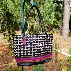 Relic tote bag, elephant pattern